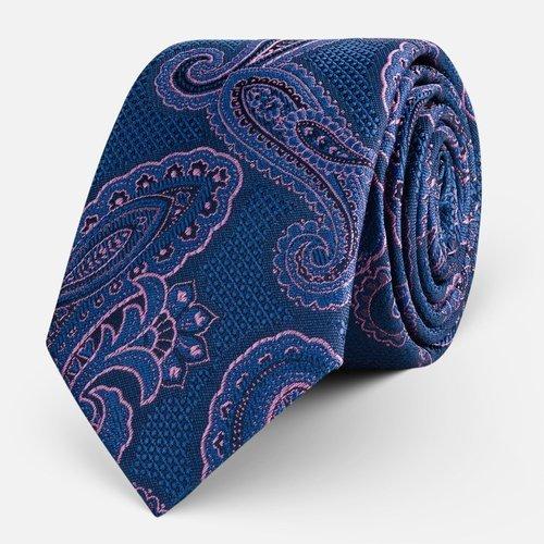 Krawat Paisley Violet