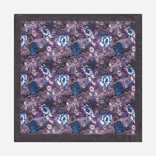 Poszetka Atumn Flowers Violet