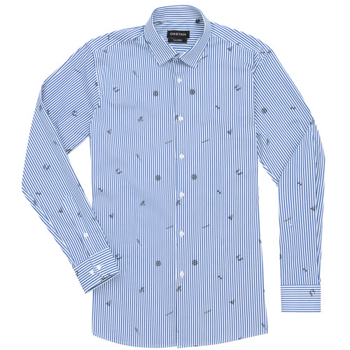 Koszula Tailored Sailing Blue Stripes
