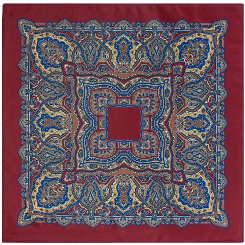 Poszetka Oriental Pattern Red Wine