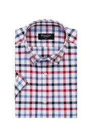 Koszula Krótki Rękaw Krata Blue Red