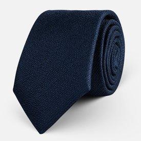 Krawat Navy Texture