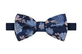 Mucha Satin Flower Blue