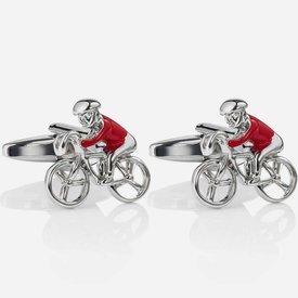 Spinki do mankietów Red Bicycles